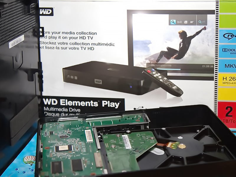wd elements play 2Tb